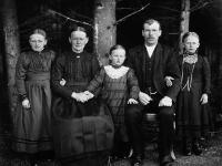 August Sander, Bauernfamilie